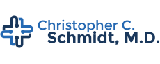 Christopher C. Schmidt, M.D. Logo